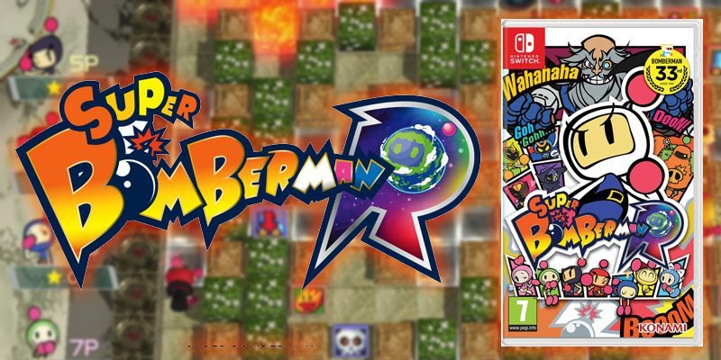 Bomberman R Nintendo Switch Game