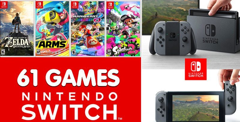 Nintendo Switch Video Games