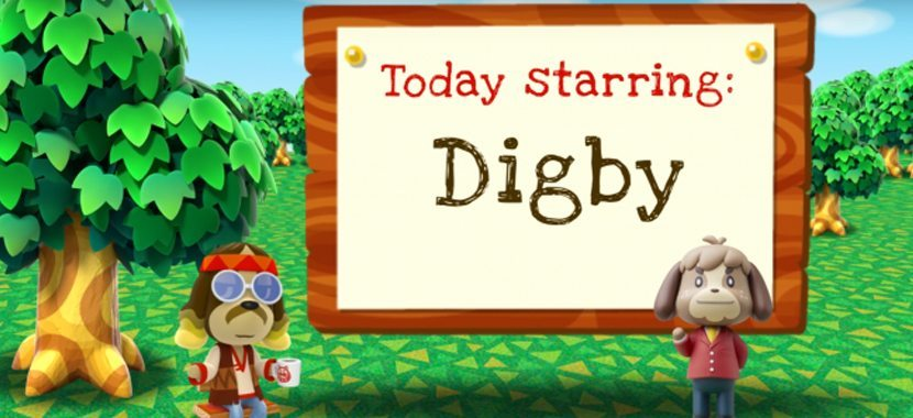Animal Crossing New Leaf Welcome Amiibo Digby