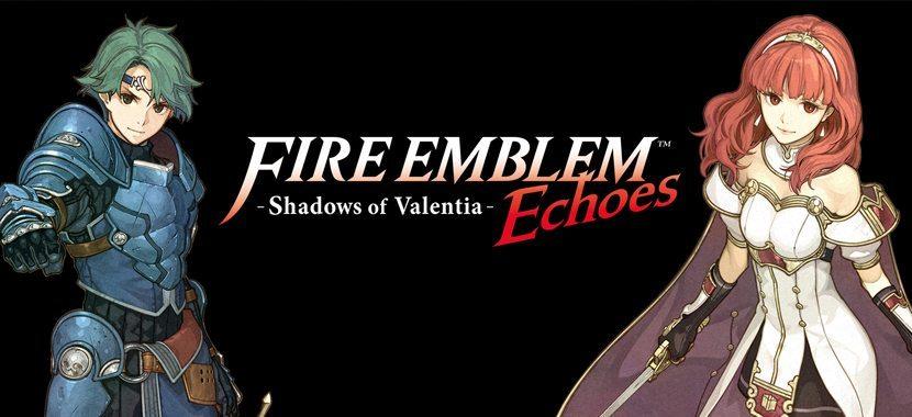 Fire Emblem Shadow of Valentia Nintendo 3ds Game