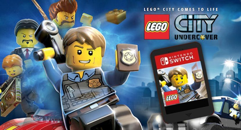 lego city undercover storage on nintendo switch