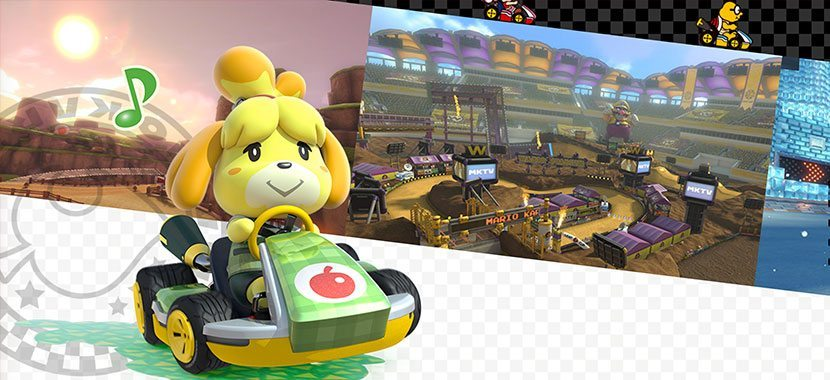 mario kart 8 deluxe animal crossing dlc