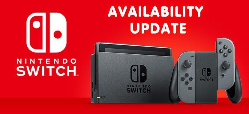 Nintendo Switch Store Availability
