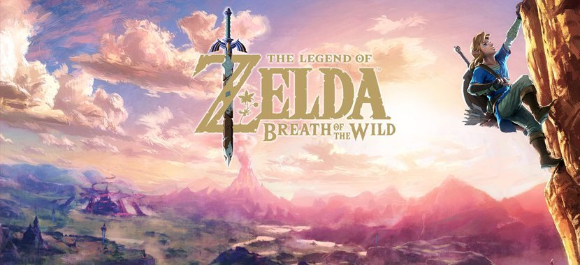 Zelda breath wild for nintendo switch