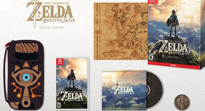Zelda Breath of the Wild Limited Special Edition
