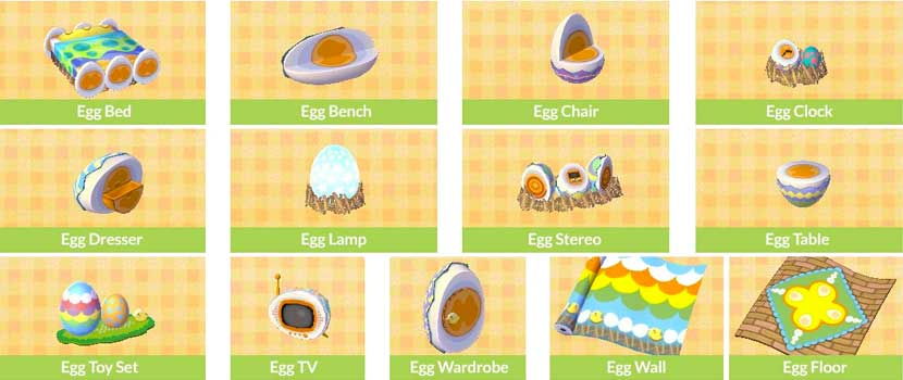 Animal Crossing Bunny Egg