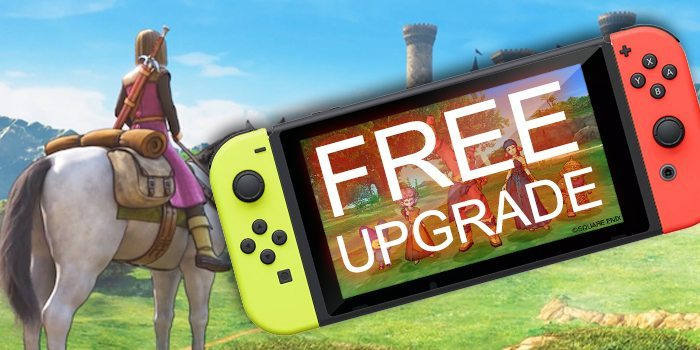 Dragon Quest X Free Switch Upgrade