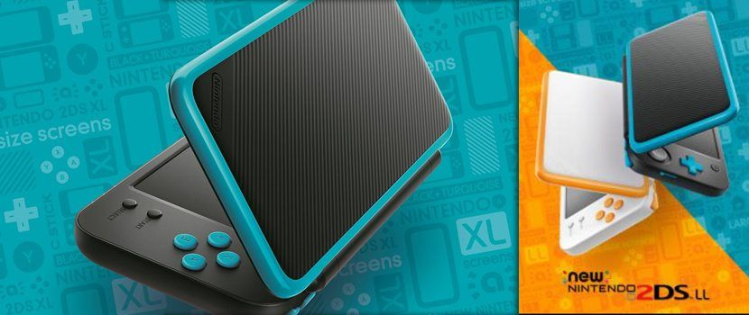 Nintendo 2ds XL Blue