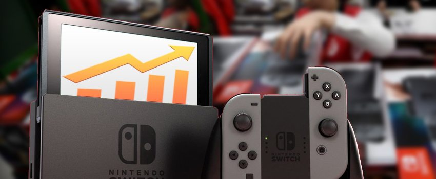 Nintendo Switch Outsells