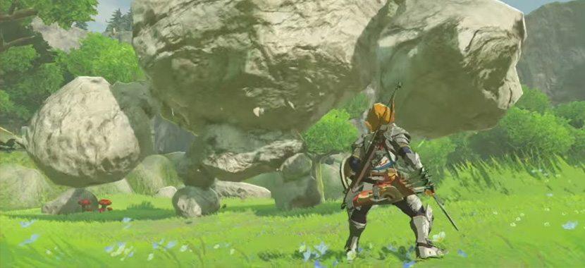 Zelda Breath Wild Boulder Challenge
