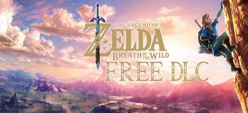 Zelda Breath of the wild FREE DLC Expansion pass