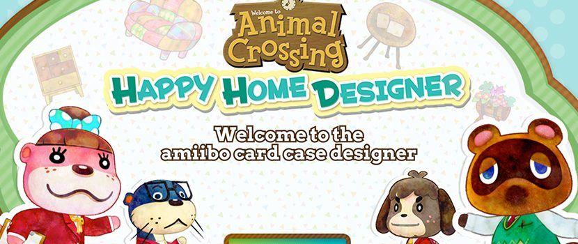 Animal Crossing Amiibo Card Case