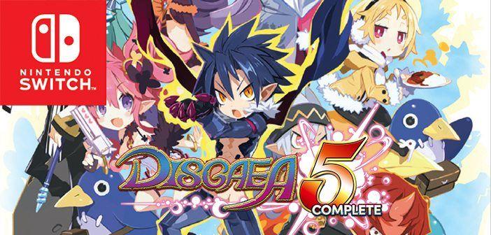 Disgaea 5 Demo