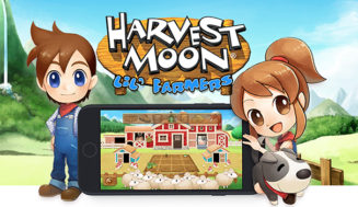 Brand New Harvest Moon Lil Farmers Game now Available