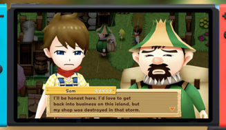 Harvest Moon Light of Hope Gameplay Footage – Rebuilding Your Village