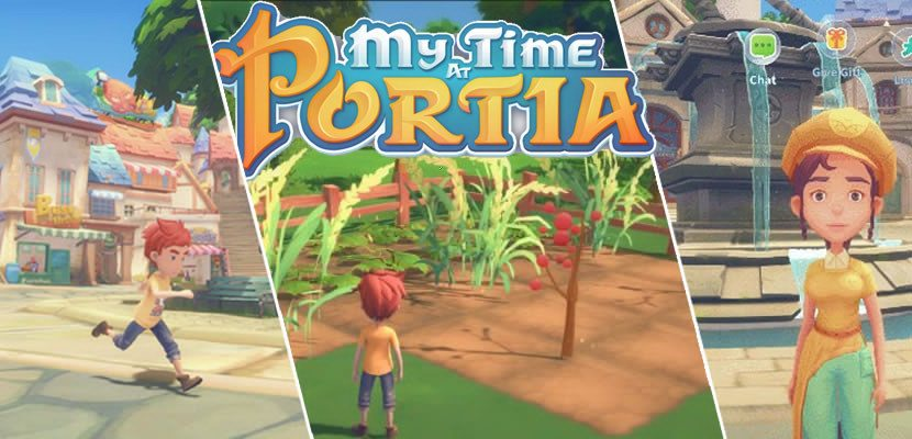 My Time At Portia Gets A New Crafting Trailer