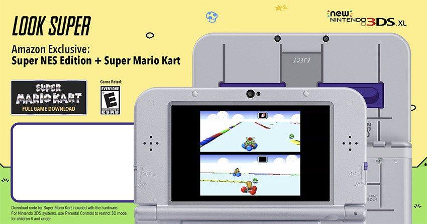 Super NES 3DS XL Edition