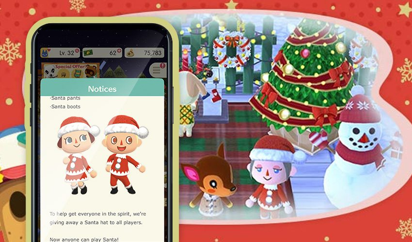 Pocket Camp Christmas