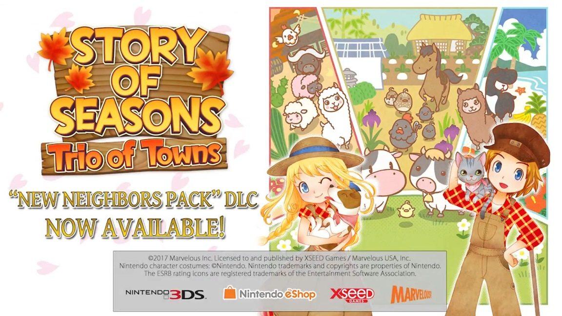 Story of SeasonsNeighbors Pack