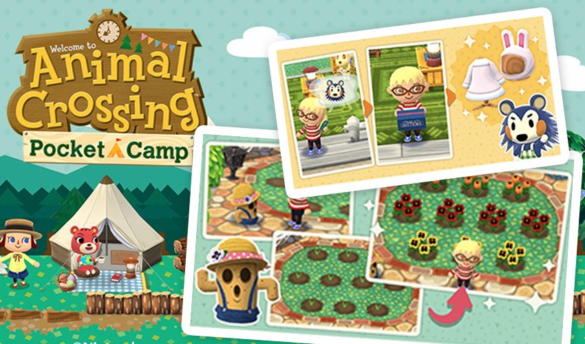 Pocket Camp Gardening