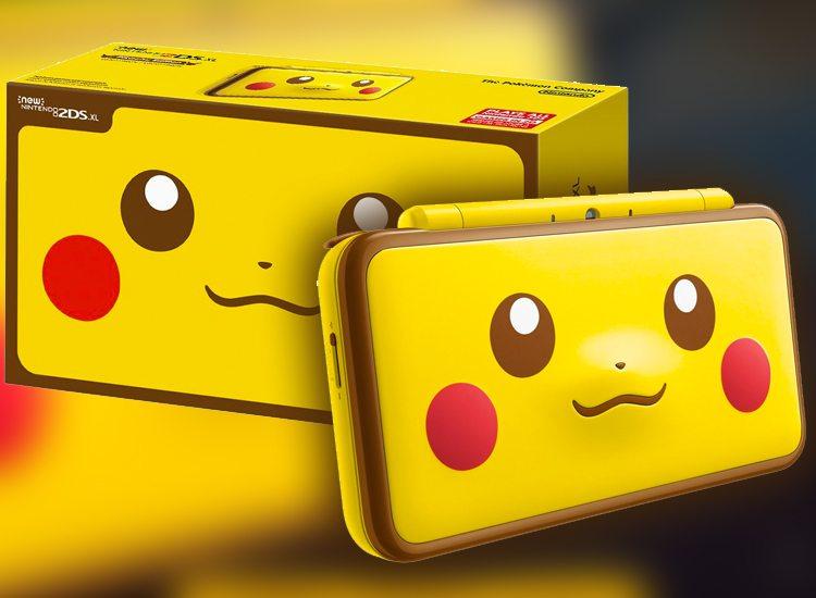 2DS XL Pikachu Edition
