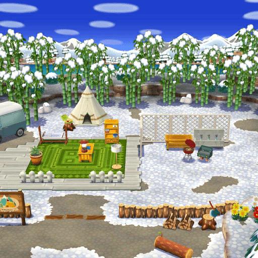Pocket Camp terrain Customization