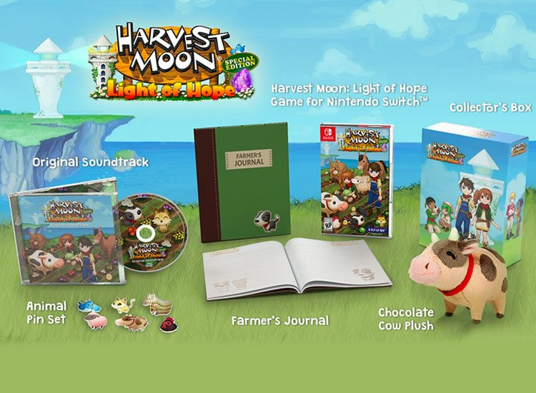 Harvest Moon Light of Hope Special Edition More Details