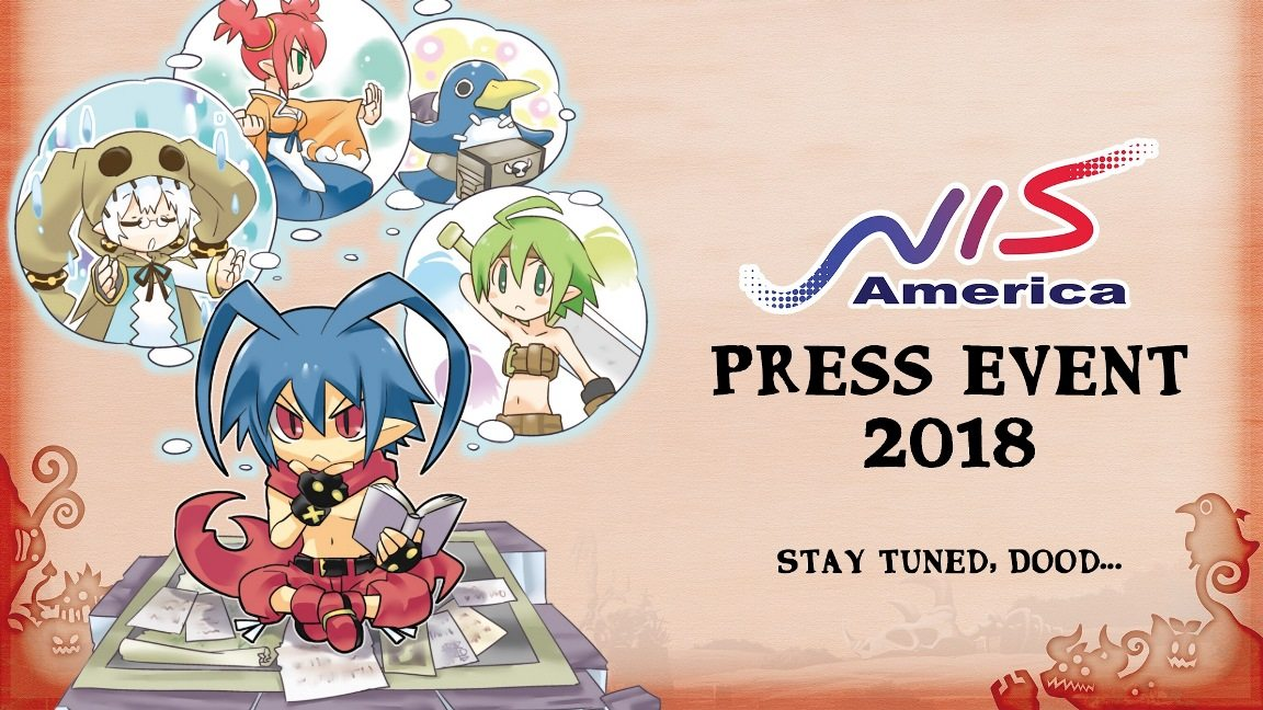 NIS America Games Coming to Switch