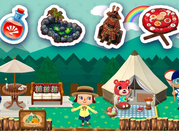 new animal crossing pocket camp mario event new items and more
