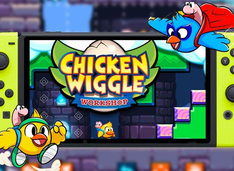 Chicken Wiggle Workshop Nintendo Switch