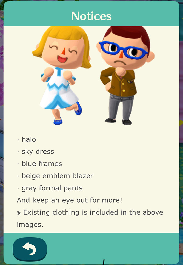 pocket Camp Clothes Crafting