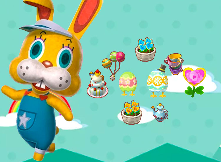 Animal Crossing Pocket Camp Easter Event