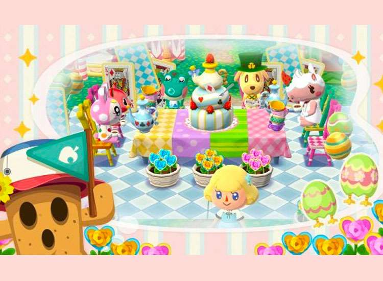 Animal Crossing Pocket Camp Tea Party