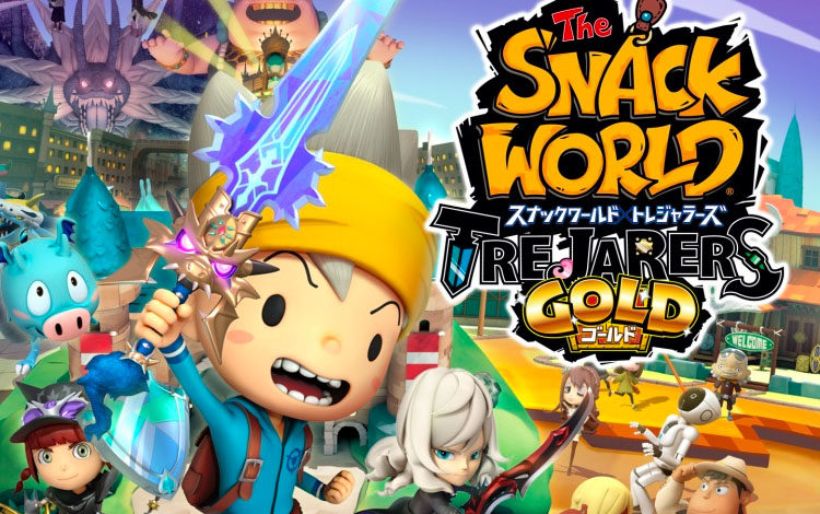 The Snack World Switch Gameplay