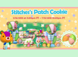 Pocket Camp Stitches Fortune Cookie