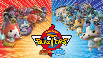Photo of Yo-Kai Watch Blasters: Red Cat Corps & White Dog Squad – Out Now!