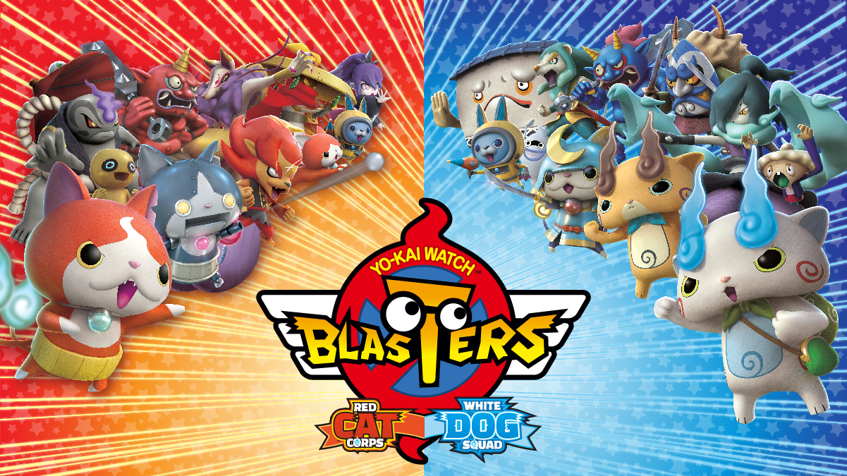 Yo-Kai Watch Blasters: Red Cat Corps & White Dog Squad – Out Now!