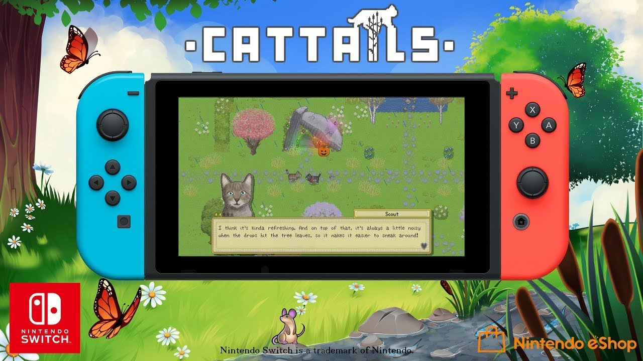 RPG Simulation Cattails Will Be 'Paw-ted' Onto Nintendo Switch