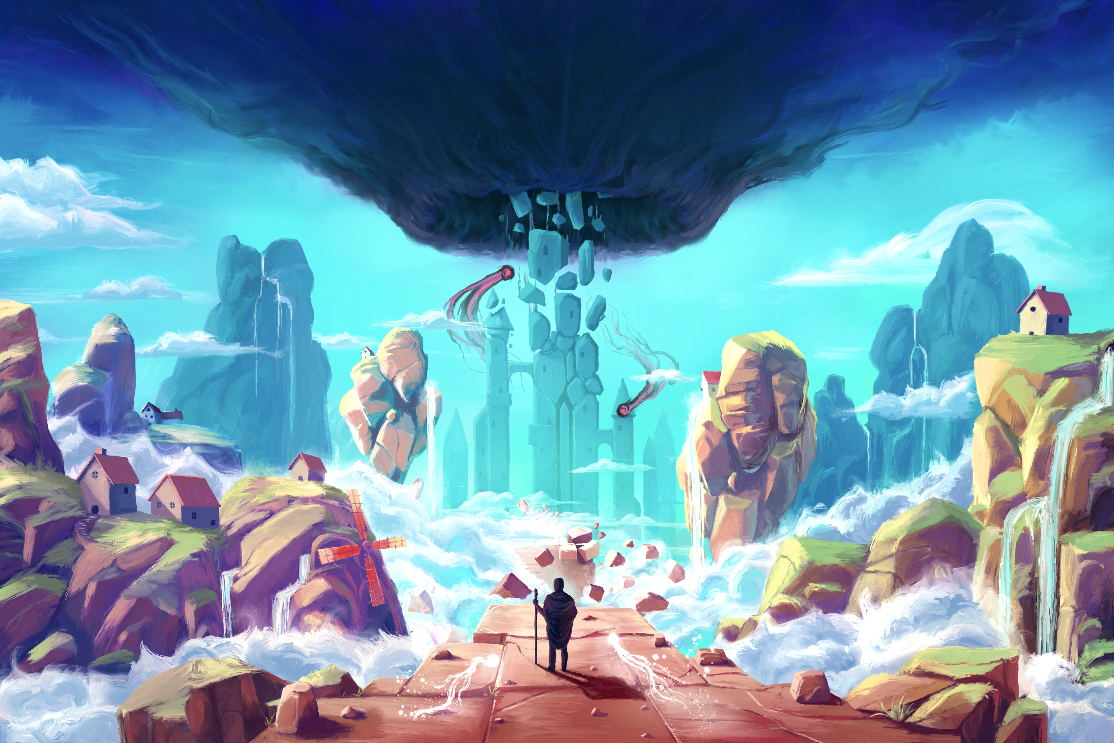 The Soujourn – The Upcoming Adventure Platform Game