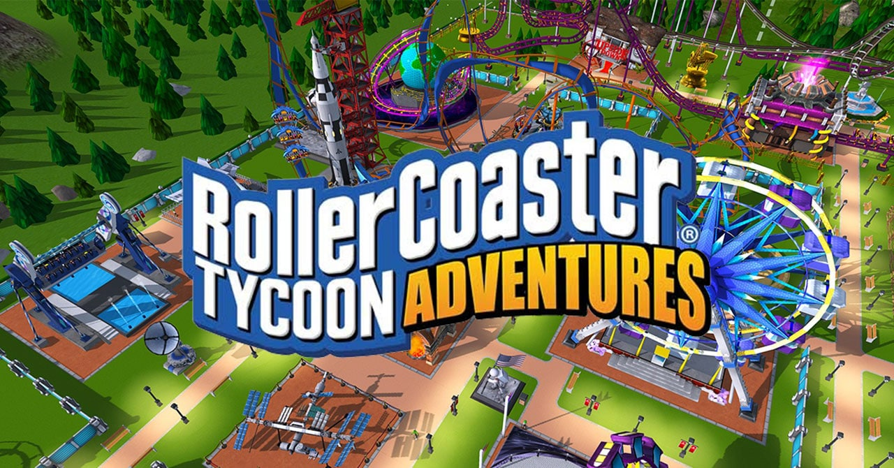 RollerCoaster Tycoon Adventures to Swoop onto Switch Next Week