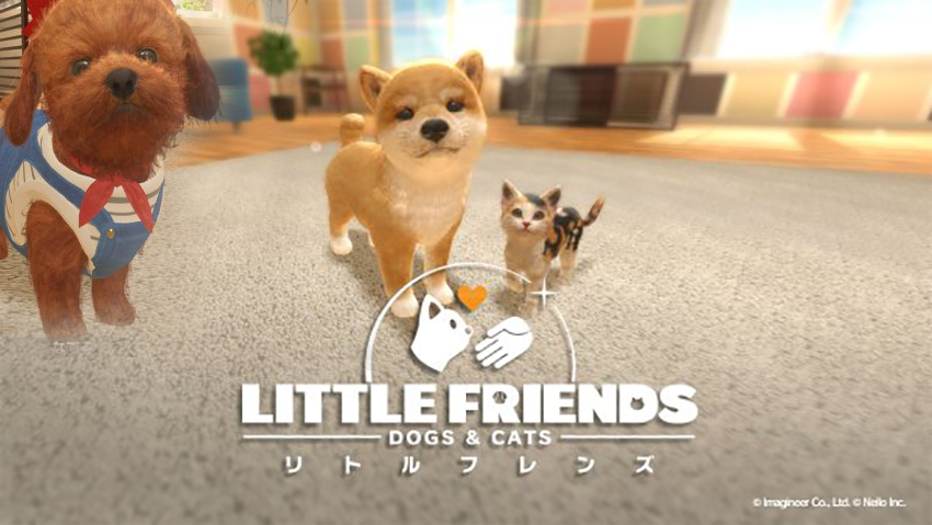 Little friends cats and dogs dog games