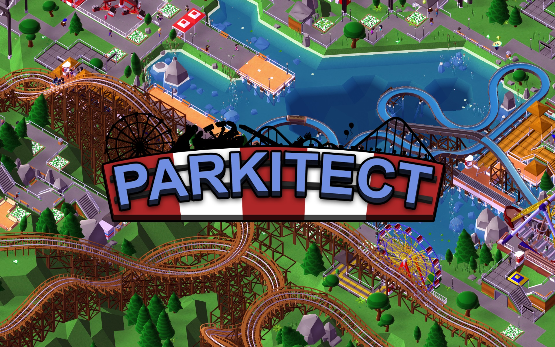 Theme Park Construction-Management Game Parkitect Now Available on Steam