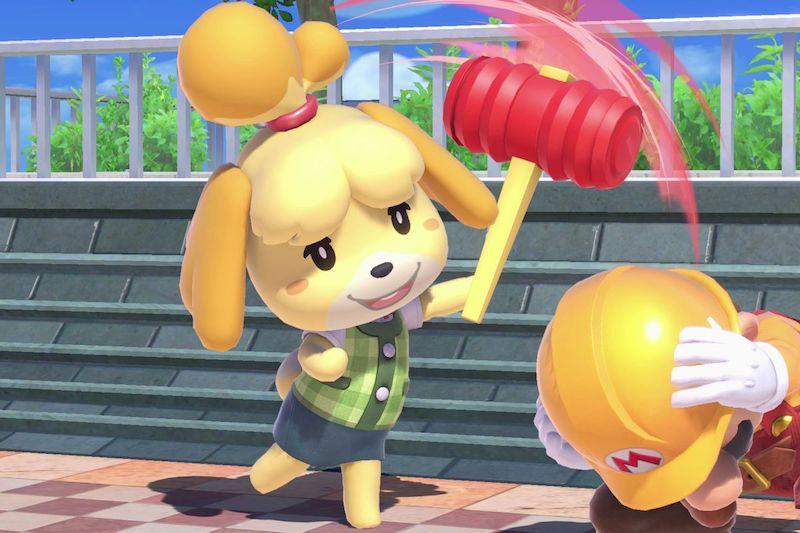 Smash Bros Isabelle