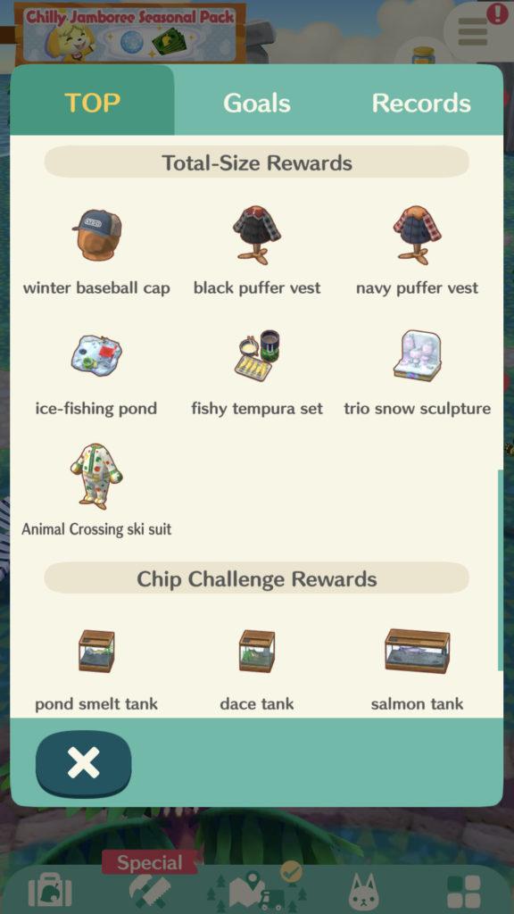 Animal Crossing Pocket Camp Fishing Tourny