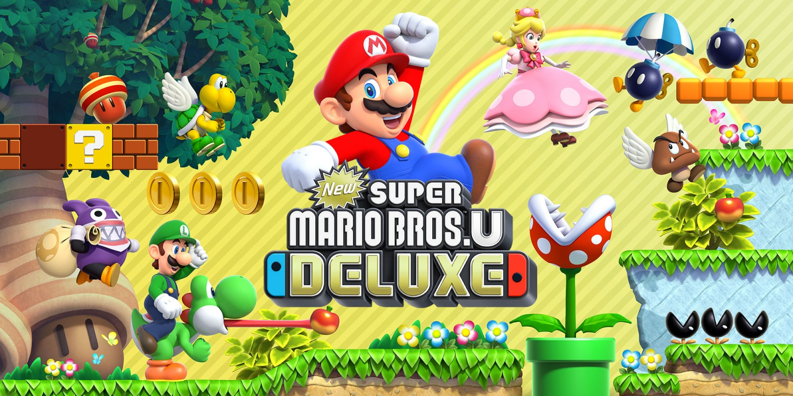 New Super Mario Bros. U Deluxe – Now Available on Nintendo Switch