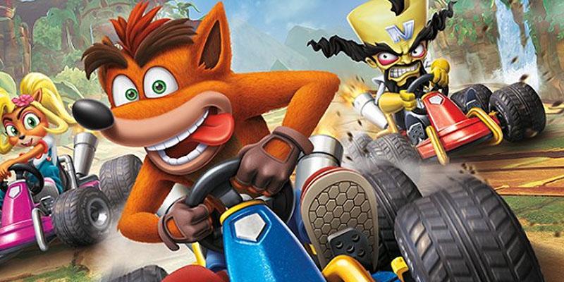 Crash Team Racing Gameplay