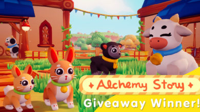 Photo of Alchemy Story Giveaway Winners and Update