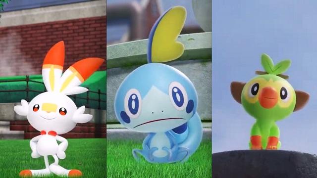Pokemon Sword/Shield Characters