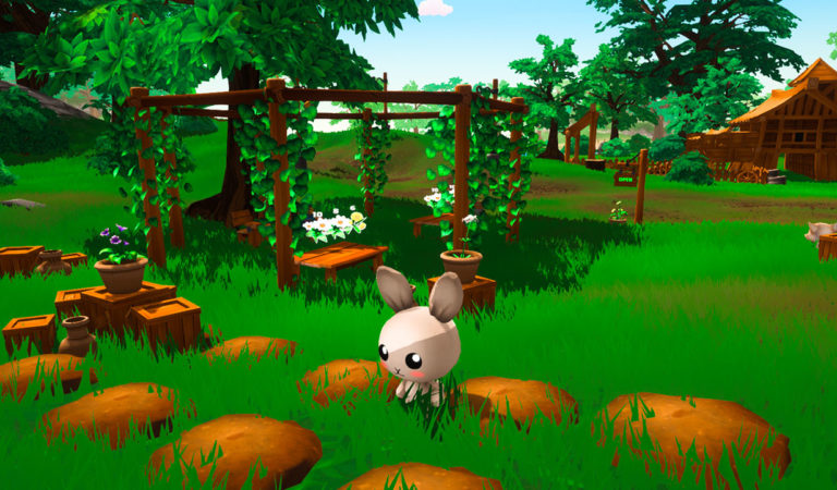 Garden Paws – Play as Adorable Animals in this Simulation/Exploration Game