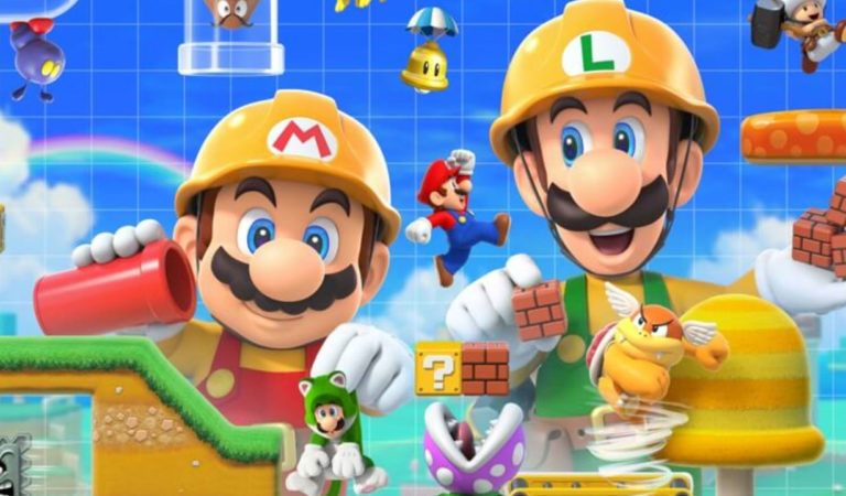 Super Mario Maker 2 Features 4 Player Co-op Fun